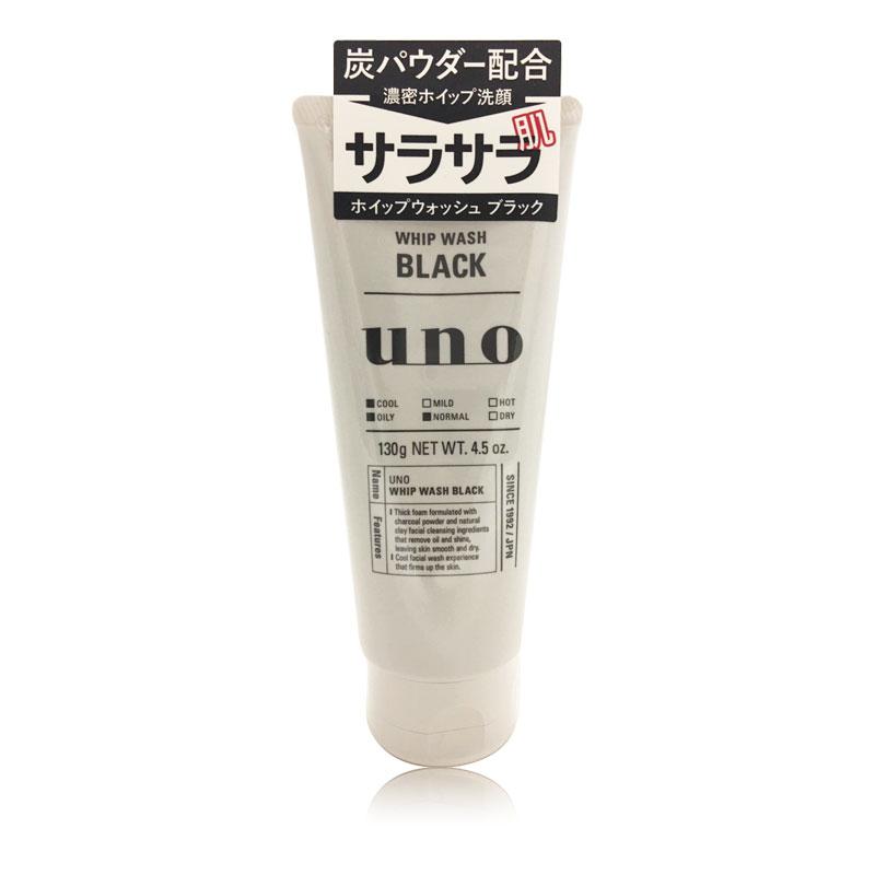 保税区  日本资生堂UNO吾诺男士黑色洗面奶130g