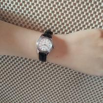 国产原装库存表5520机芯手动上弦机械女表怀旧表皮带钢带腕表