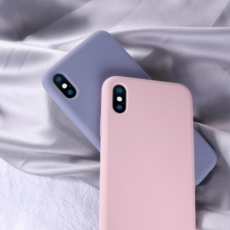 苹果8plus手机壳7plus液态硅胶iphone7潮牌6splus简约磨砂7p全包防摔纯色6plus超薄6s新款软壳ins六ipone七八