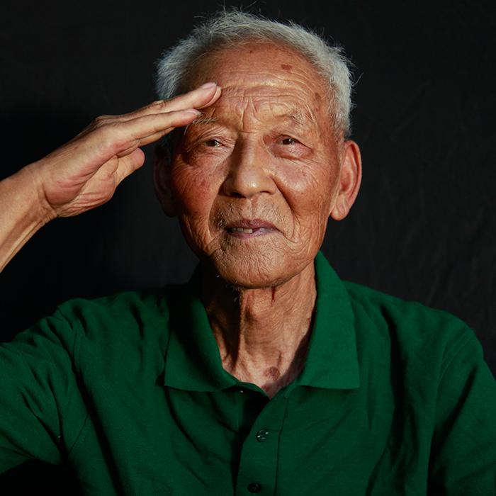 """""""抗战老兵关怀计划""""  月捐 助老兵获得更有尊严的晚年生活 公益"""