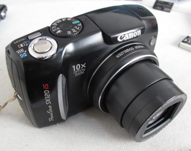 Canon/佳能 PowerShot SX120 IS 原装长焦数码相机10倍光变