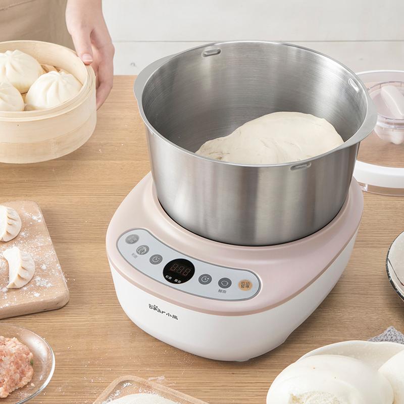 小熊家用小型面粉商用厨师机搅拌机