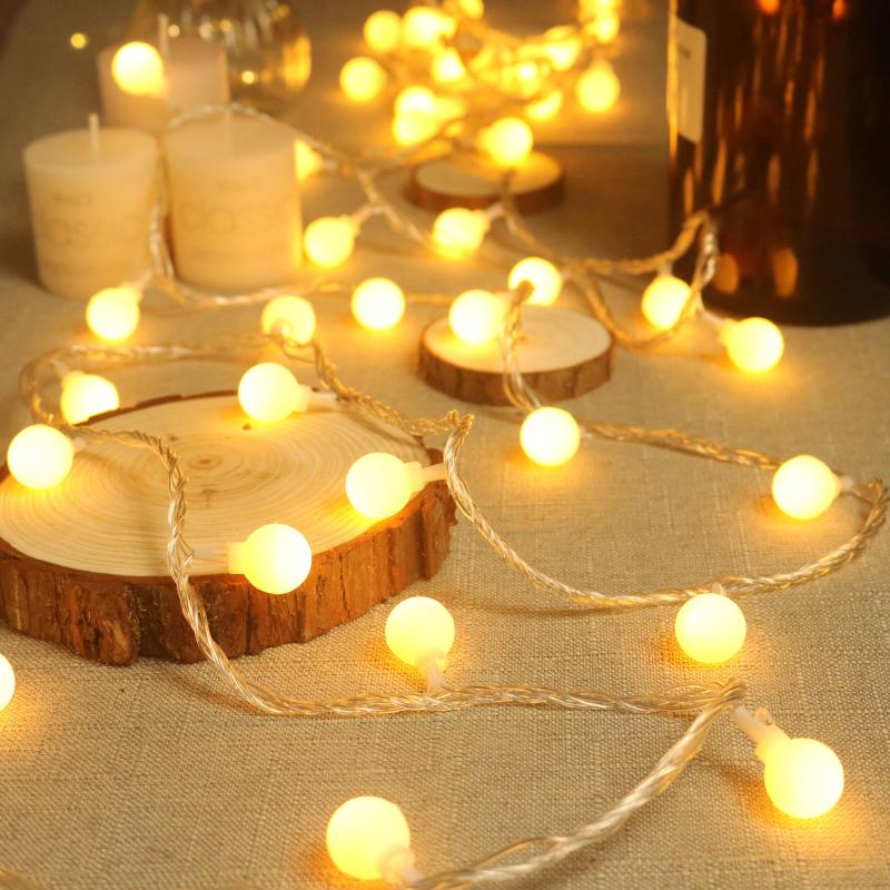 led小彩灯闪灯串灯满天星星灯饰网红房间布置卧室家用圣诞节装饰