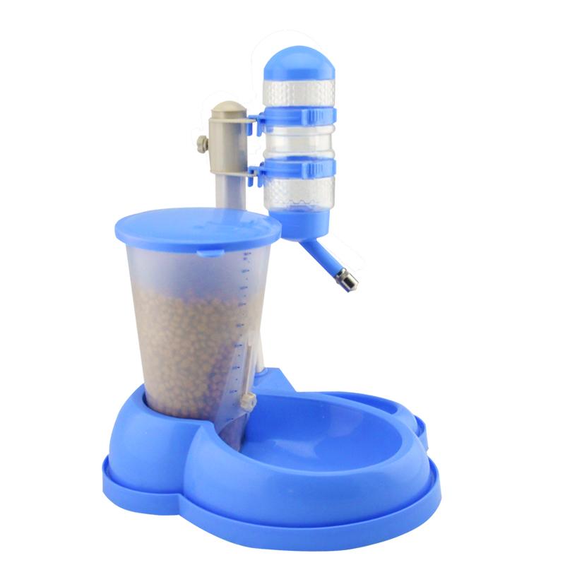 寵物貓咪狗狗自動飲水器自動喂食器一體食盆狗碗狗盆智能狗食盆