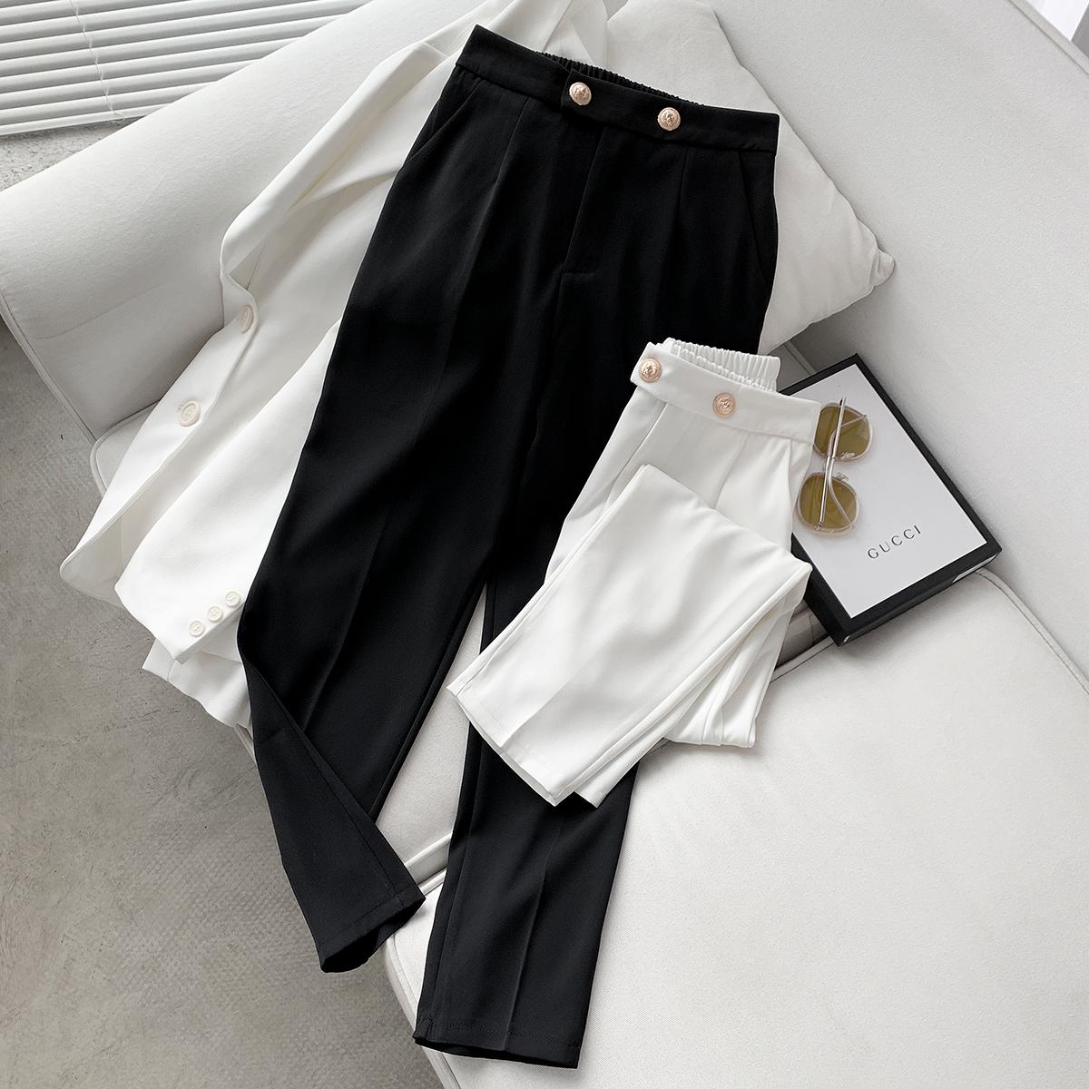 【春上新】本千家2021新款韩版女长裤