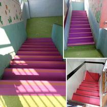 楼梯踏步垫止滑板幼儿园防滑条整体垫子家用地垫进门台阶pvc橡胶