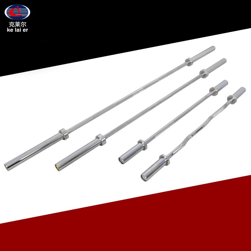 Professional barbell bar 2.2m large hole barbell bar Austrian steel copper sleeve super heavy duty