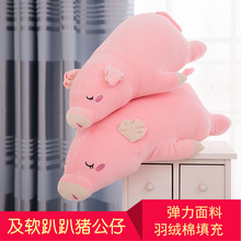 Down cotton soft ſſ pig plush toy rag doll doll birthday