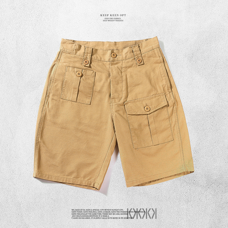 Ono recommends mens casual Multi Pocket overalls shorts in summer