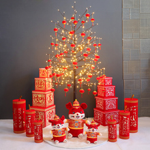Christmas tree light LED color light package items New Year decoration new year's Day New Year's Eve wedding room scene layout