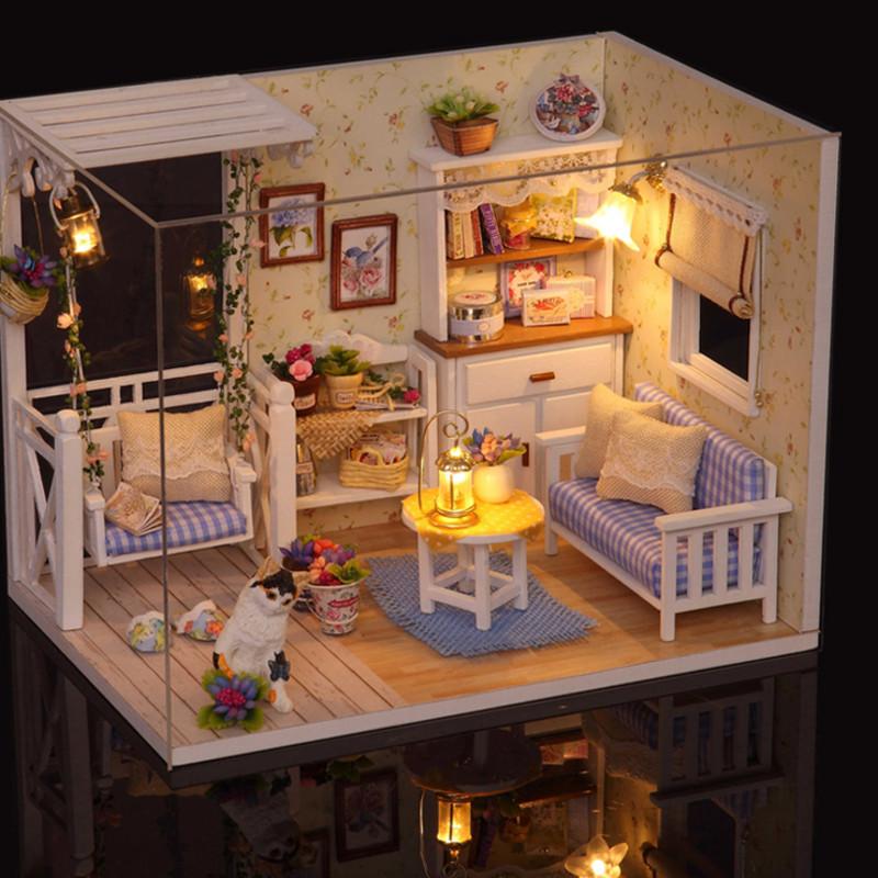 迷你手摇钢琴音乐盒diy手工八音盒木质天空之城生日礼物女生友情