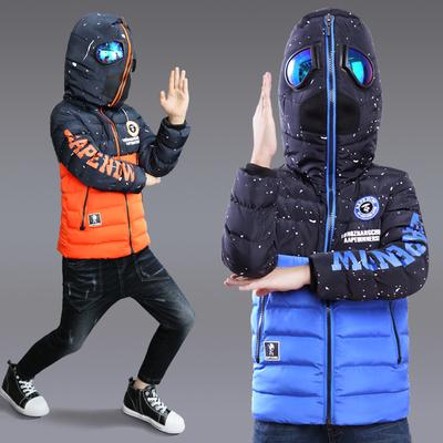 9到10岁8至11冬季男童装冬装12男孩子5一6加厚羽绒棉服棉袄7外套4