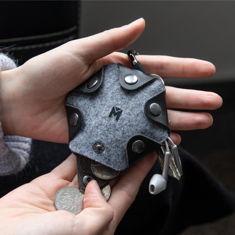 零钱包女可爱简约19新款网红学生创意小钱包韩版耳机收纳包硬币包