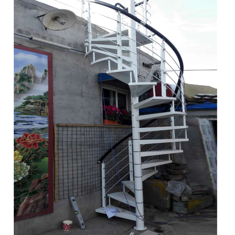 2019阳台 洗衣柜 整体定制 中柱室外 旋转 防雨 防滑 楼梯 加厚