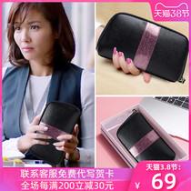 手拿包钱包女长款2020新款可放手机拉链真皮小包包手包女手抓包