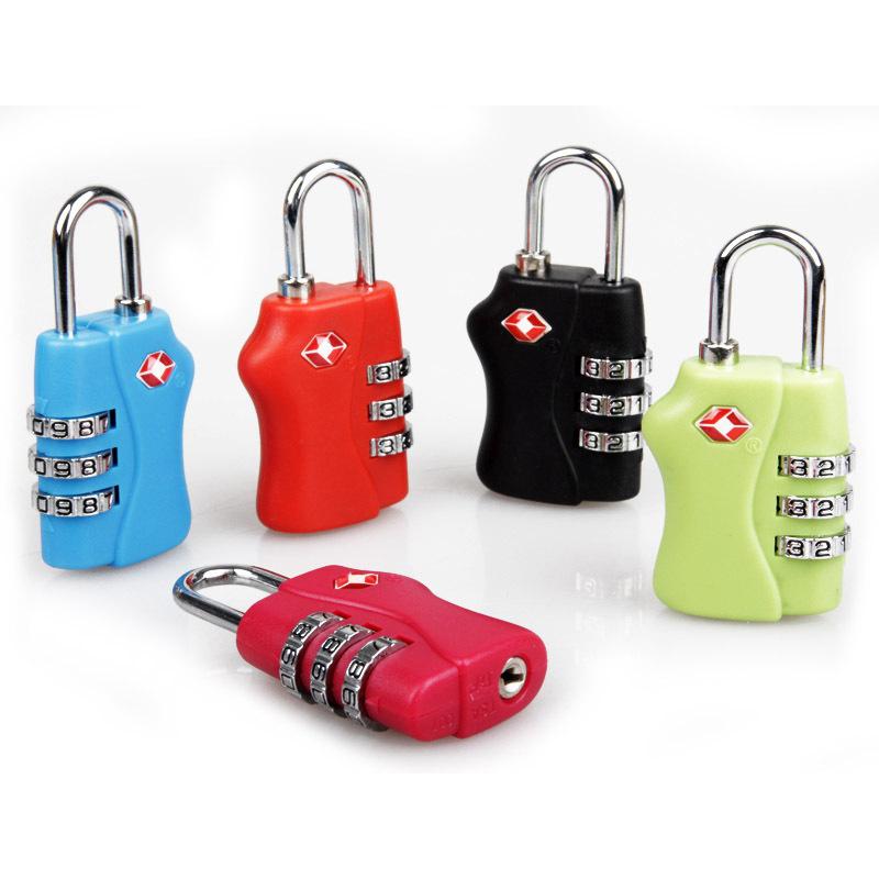 TSA пароль замок из страна таможенные замок род коробки пакет чемодан противоугонные замки проверить стальной замок багажник замок