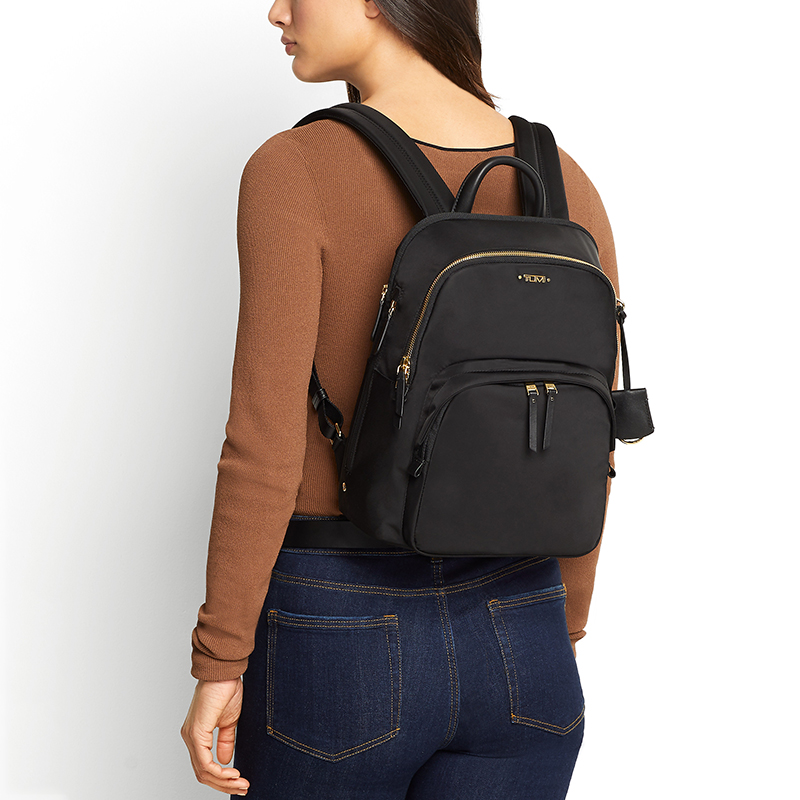TUMI/Tu Ming Voyageur series classic solid color ladies lightweight backpack