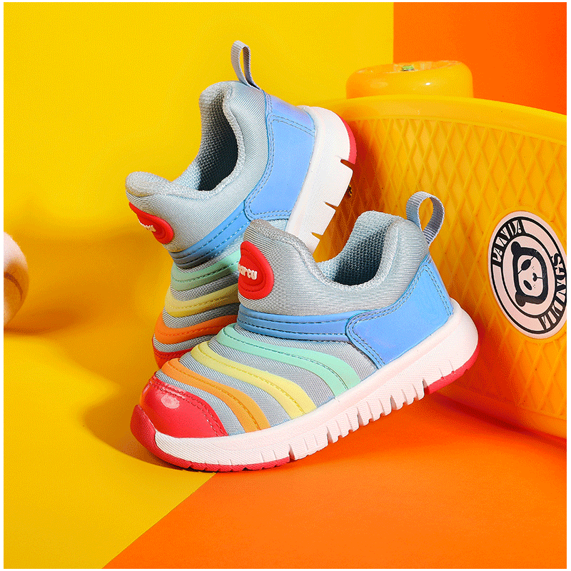 Carter rabbit spring and summer mesh breathable caterpillar children's shoes boys and girls baby walking shoes children's Soft Sole Baby Shoes