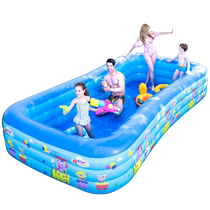 Childrens oversized water park baby swimming pool household baby inflatable adult thickened family child pool