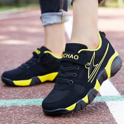 6男童鞋子10春款9男孩网鞋透气10儿童12大童鞋休闲运动跑步鞋15岁