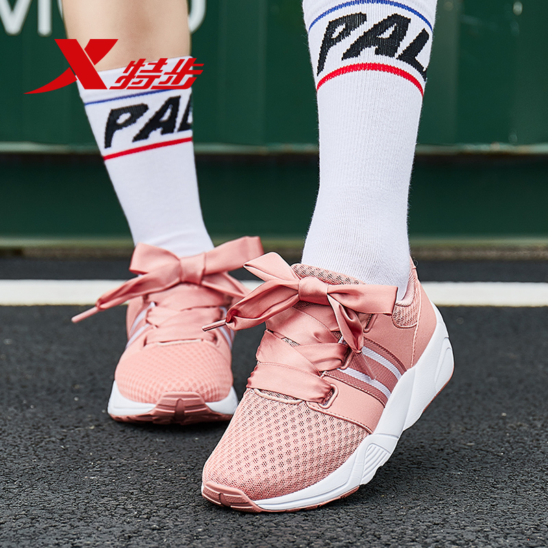 Tebu womens sports shoes mesh shoes spring and summer breathable mesh leisure shoes comfortable student running shoes authentic womens wave shoes