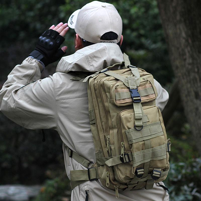 NIP армия фанатов специальный тип солдаты 3P атака рюкзак на открытом воздухе восхождение кемпинг миграция шаг путешествие камуфляж тактический рюкзак 25L