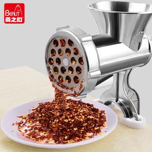 手动绞肉机家用灌香肠器手摇饺子馅搅碎菜机小型灌肠工具打碎