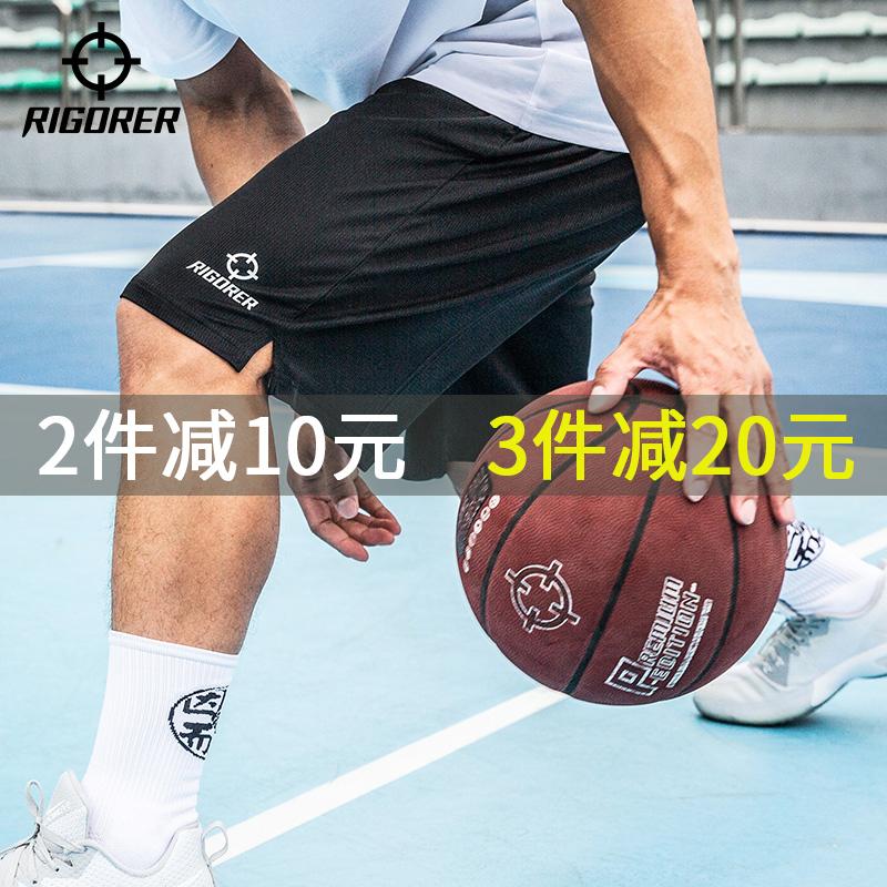 准者篮球裤五分裤子男士训练短裤49.00元包邮