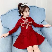 女童连衣裙春秋2020新款韩版洋气儿童裙子春装长袖童装女孩公主裙