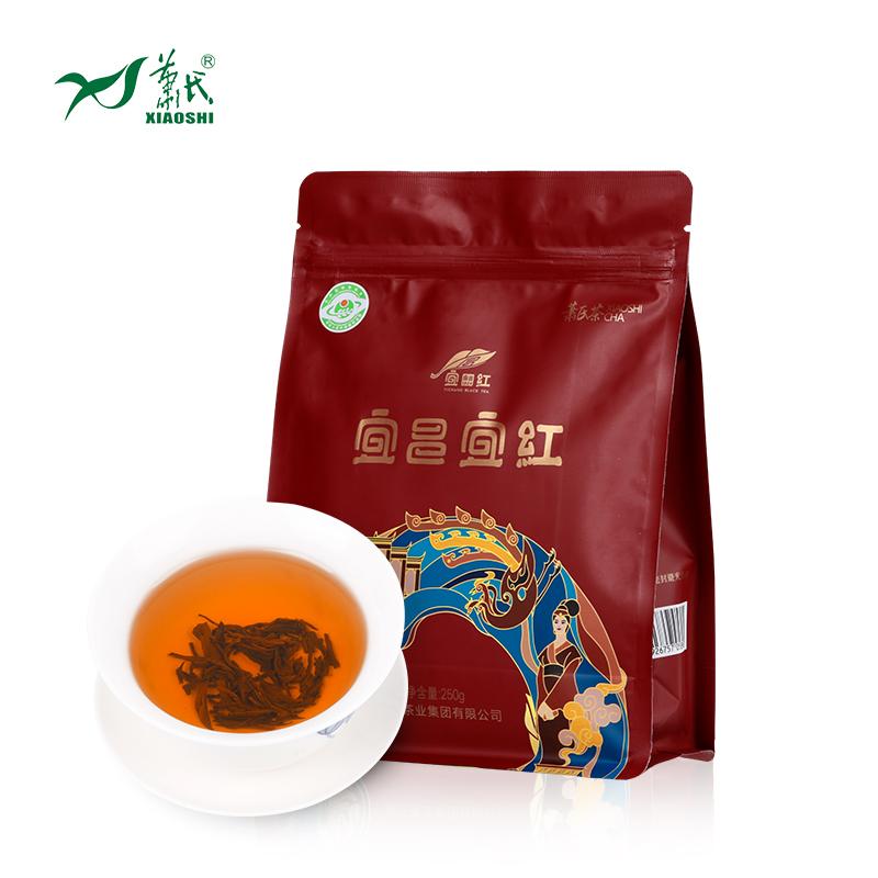 湖鼻昌工夫红茶果香型口粮茶250g萧氏宜昌宜红红茶袋装