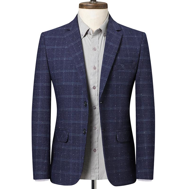 男士西装春季新款职业正装商务休闲帅气小西服青年修身外套上衣男