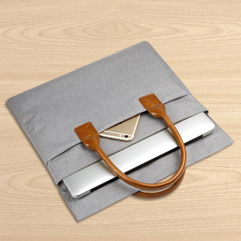 蘋果 14男15.6公文13.3英寸戴爾筆記本單肩手提袋 女電腦包