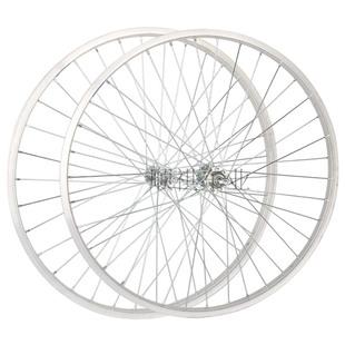 自行车轮组铝合金车圈单车轮毂成品轮组车轱辘车轮编圈前轮后轮