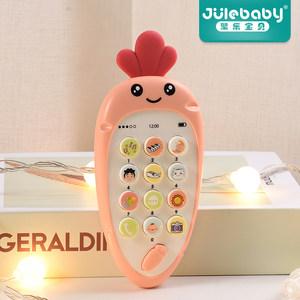 音乐手机女孩益智0-1岁6儿童玩具