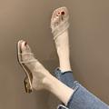 女鞋拖鞋外穿 时尚