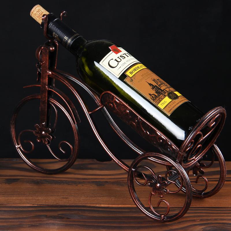 家用红酒架摆件酒柜装饰品摆设欧式创意葡萄酒架家居装饰品酒瓶架