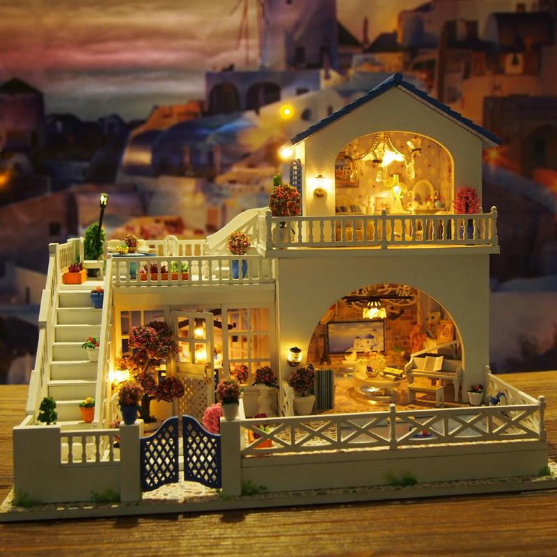 手工木质diy八音盒音乐盒天空之城创意新婚礼物新奇送女生闺蜜