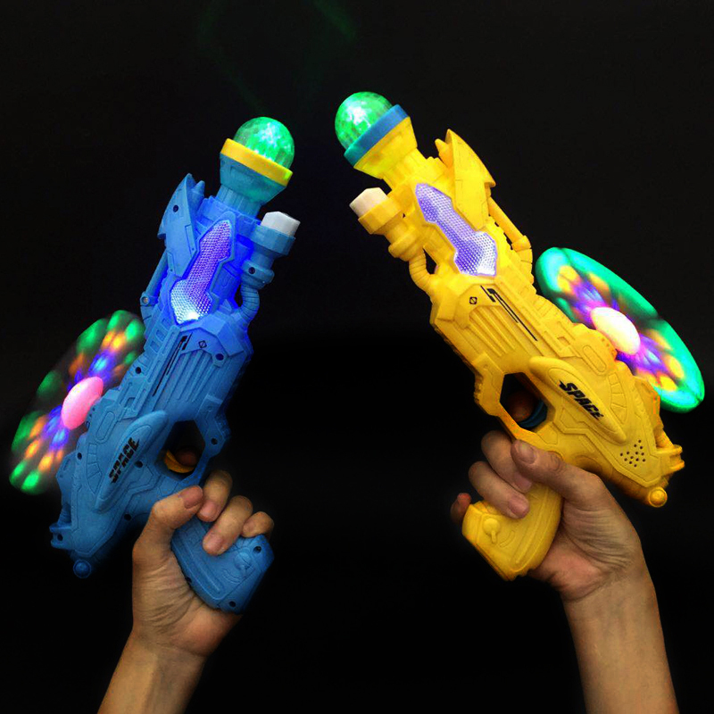 Electronic toy gun for boys and girls aged 2-3-6