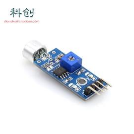 声音检测模块声音传感器声控麦克咪头模块声控开关口哨噪音测量用图片