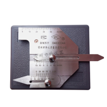 Welding inspection ruler weld gauge Weld ruler seam HJC40 welding gauge ruler Welding ruler