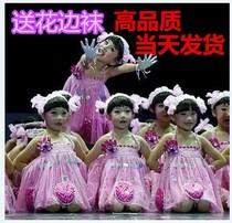 我有一双小小手服装演出服小荷风采舞蹈服/儿童表演服饰/幼儿舞蹈