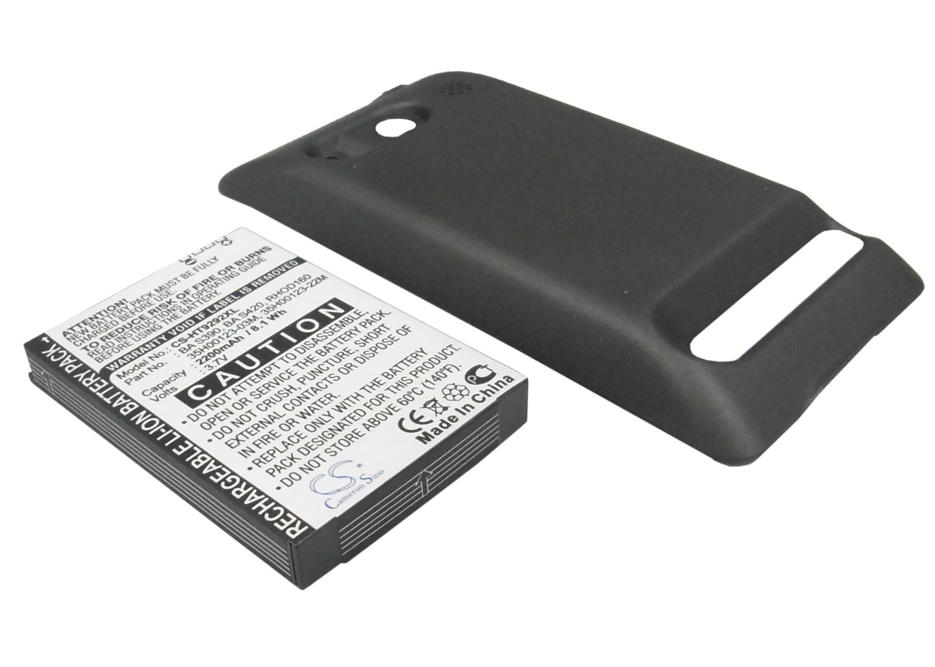 CameronSino适用HTC  EVO 4G A9292手机电池BA S390 BA S420