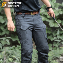 Area 7th IX7 Mechanic tactical trousers Fall men outdoor Army fans training pants casual slimming overalls Pants