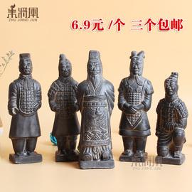兵马俑工艺品摆件中国风特色小礼品礼物西安旅游纪念品出国送老外