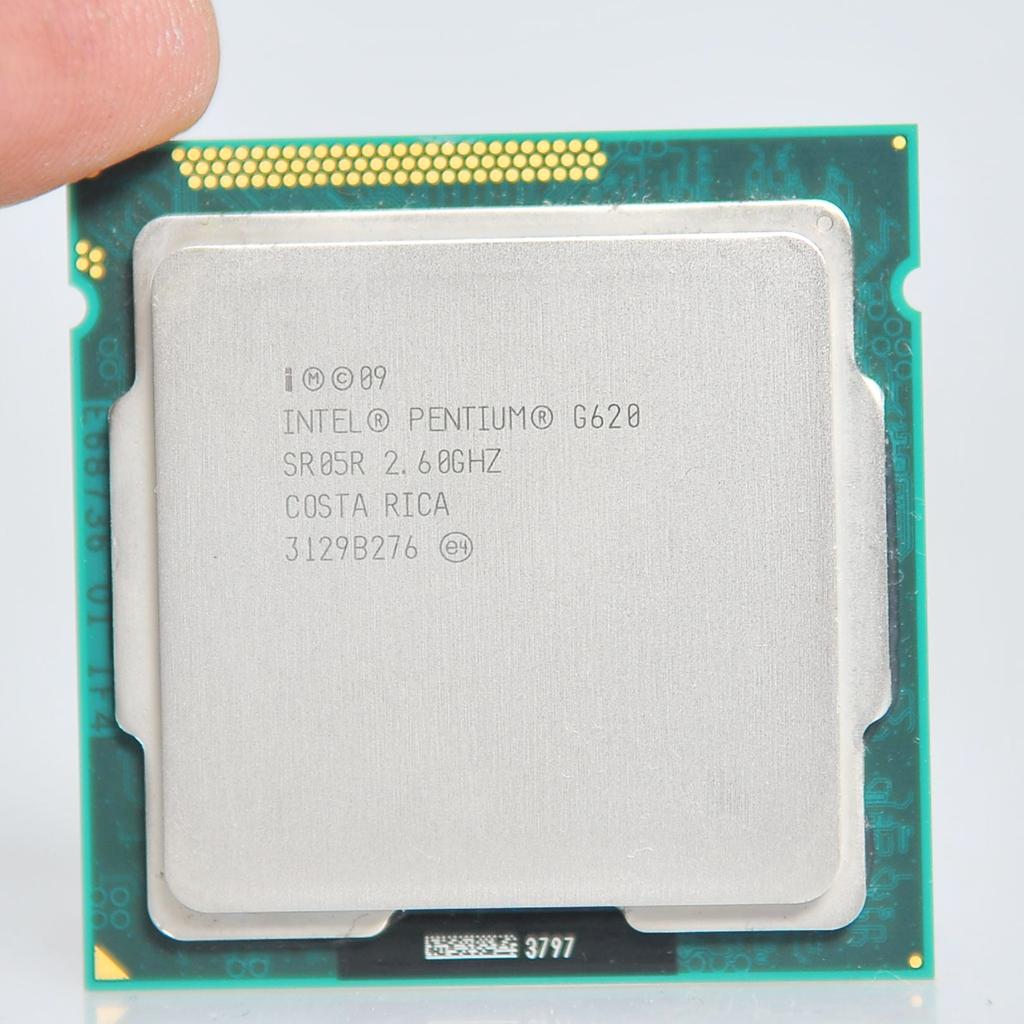 英特尔 G620 G630 G640 G850 1155 CPU双核 支持H61 B75等主板
