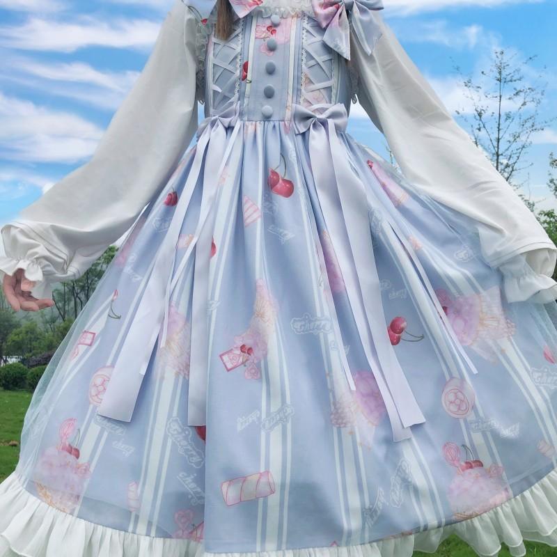 Spot Carol melody marshmallow Lolita original authentic sleeveless suspender jsk sweet dress sold out of print