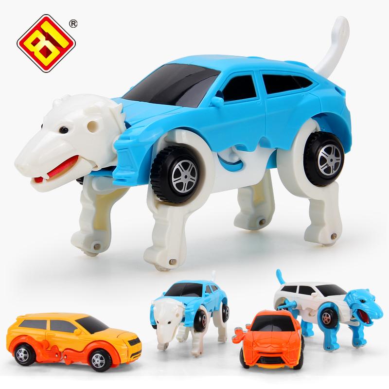 Ребенок головоломка на цепи деформировать собака на Hyun ребенок заводной игрушка автомобиль может пробег животное машину 3-6 полный год 7 лет