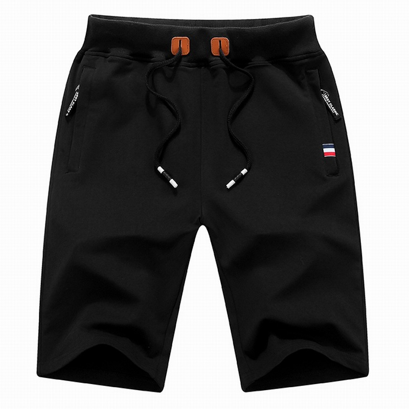 Fashion brand hot summer new mens casual shorts pure cotton fashion mens shorts mens youth sports shorts