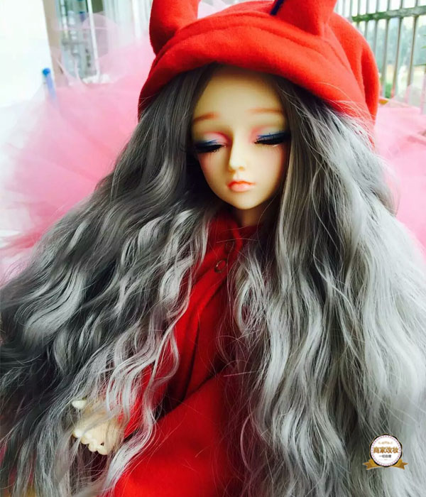 1 / 3BJD baby leaf, Laurie night, Laurie baby can be selected from a variety of high temperature silk wigs