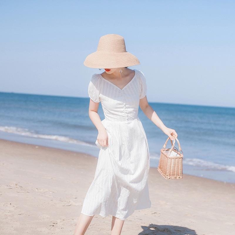 11月06日最新优惠2019夏季新款流行收腰显瘦连衣裙